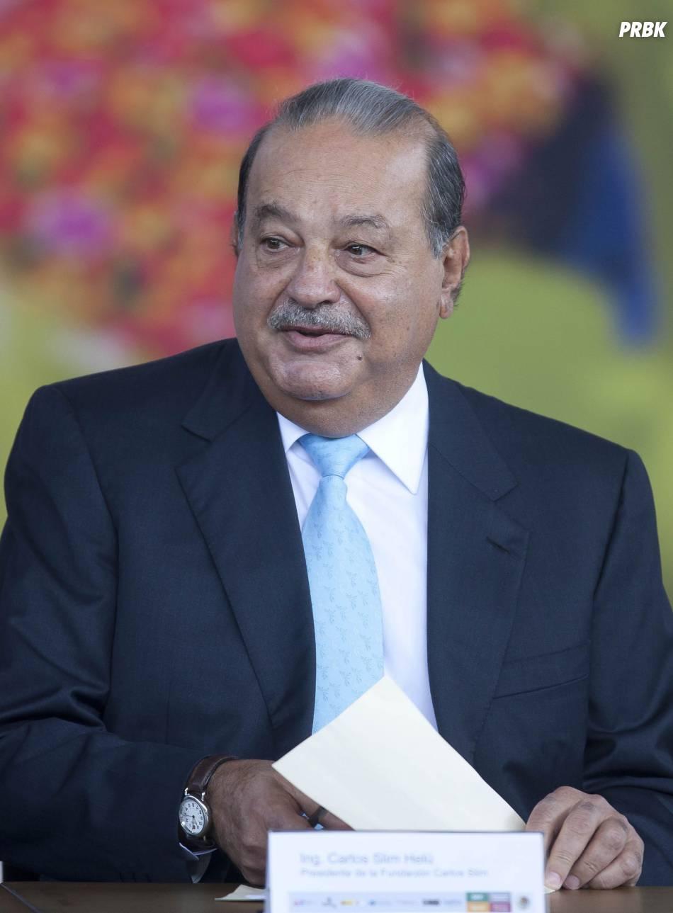 Carlos Slim doublé par Bill Gates au classement 2014 des hommes et femmes les plus riches de la planète