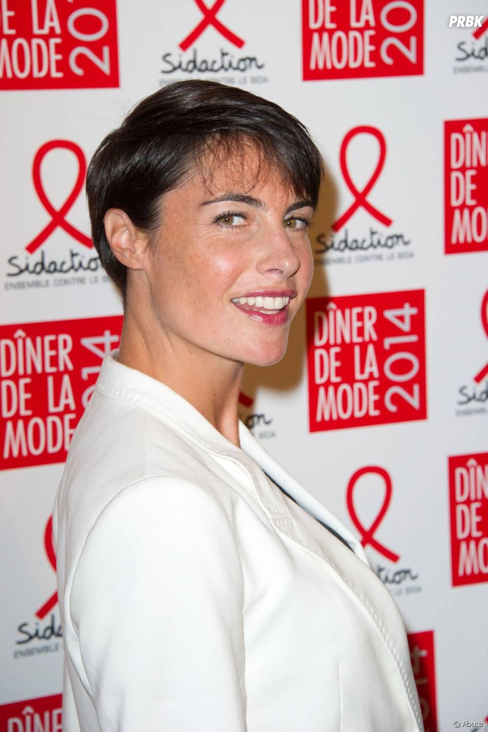 Alessandra Sublet influente sur la Toile en 2014