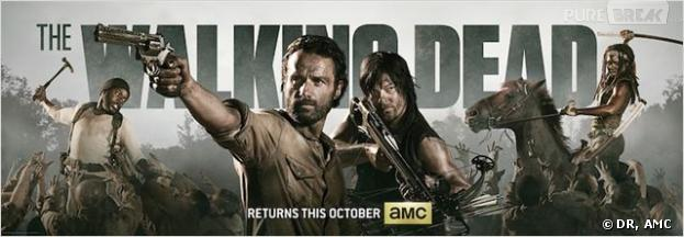 The Walking Dead saison 4 : la série sera au Comic-Con de San Diego