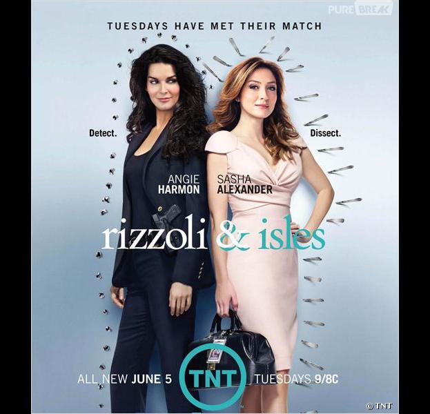 Rizzoli & Isles saison 3 : la série débarque sur France 2