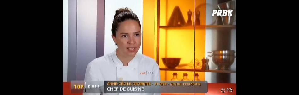 Top Chef 2014 : Anne-Cécile en colère contre Alexis