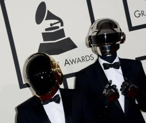 Grammy Awards 2014 : Daft Punk gagnants lors de la cérémonie, le 26 janvier 2014 à Los Angeles