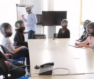 Laurent Weil est au centre d'un sketch dans lequel il se moque de son coup de gueule contre les Daft Punk