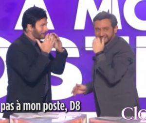 Franck Dubosc se déguise en Cyril Hanouna dans Touche pas à mon poste, sur D8 le 11 mars 2014