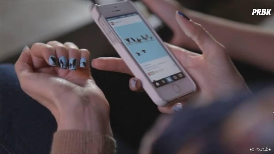 NailsSnaps : vos photos Instagram deviennent des stickers Nail Art grâce à cette application
