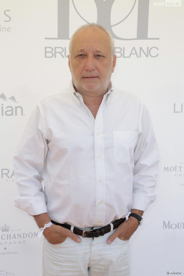 François Berléand et sa compagne Alexia Stresi sont les jurés d'un soir de Top Chef 2014 sur M6