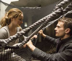 Divergente : le couple Tris/Quatre bien présent