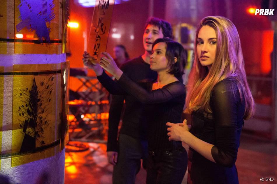 Divergente : les relations entre Tris et ses amis peu présentes