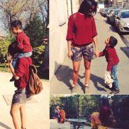 Shy'm : balade complice avec son petit frère sur Instagram