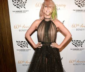 "Kesha était présente gala du 60ème anniversaire de l'association ""The Humane Society of the United States"", le 29 mars 2014"
