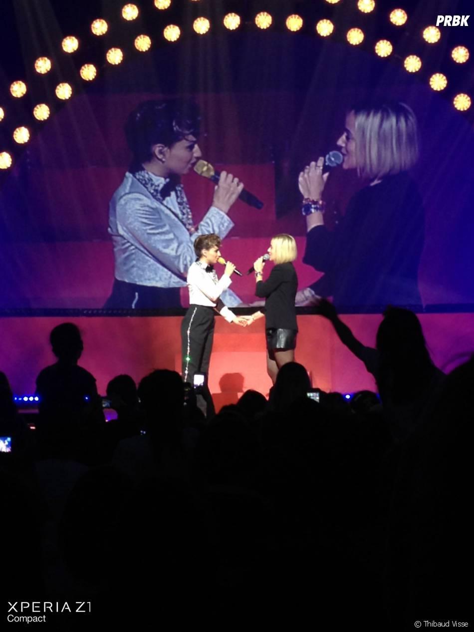 TAL & Alizée partagent un duo sur la scène du Palais des Sports !