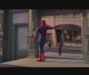 The Amazing Baby & me : la parodie de The Amazing Spider-Man par Evian
