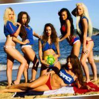 Les Marseillais à Rio : Kim, Kelly... un calendrier sexy pour les Bleus