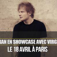 """Ed Sheeran : un nouveau single """"Sing"""" et un showcase à Paris"""