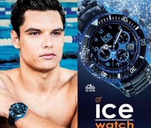Florent Manaudou : égérie des montres Ice Watch jusqu'en 2016