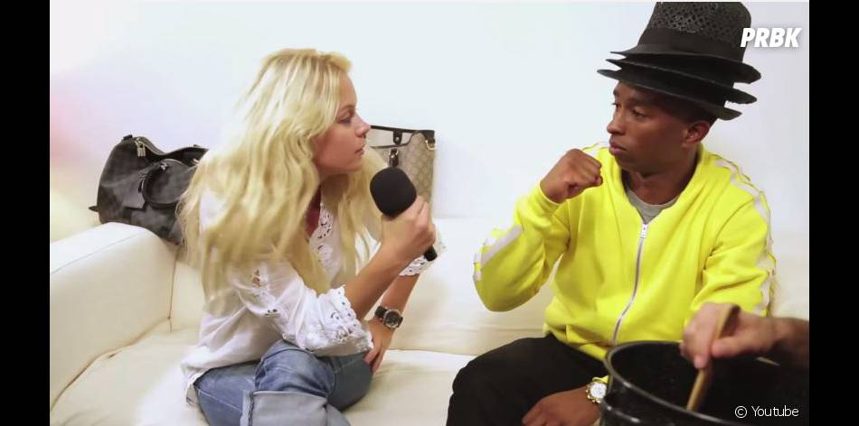 Enora malagre interview pharrell williams 1