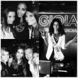 Flora Coquerel : soirée de folie pour ses 20 ans avec Laury Thilleman, Malika Ménard et Marine Lorphelin, le 16 avril 2014 à Paris