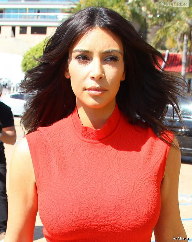 Kim Kardashian se prend un vent par Victoria Beckham