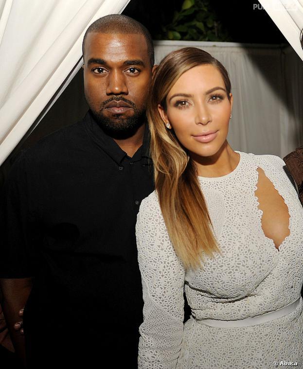 Kim Kardashian et Kanye West à la soirée du magazine Dujour, le 4 décembre 2013 à Miami
