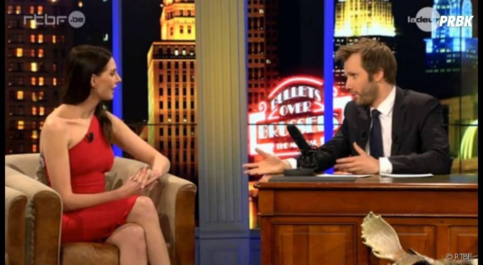 Frédérique Bel était l'invitée du Dan Late Show le 4 mai dernier