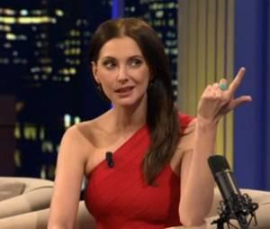 Frédérique Bel sublime dans le Dan Late Show, le 4 mai 2014