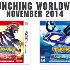 Pokémon Omega Ruby et Alpha Sapphire : les remakes des jeux GBA annoncés sur 3DS
