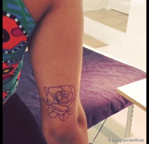 Tal dévoilé son nouveau tatouage sur Instagram