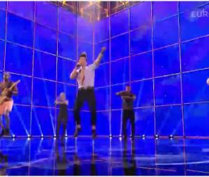 Eurovision 2014 : Twin Twin interprète Moustache, le 10 mai 2014 à Copenhague