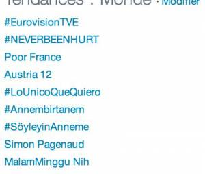 Eurovision 2014 : la France moquée sur Twitter