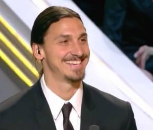 Zlatan Ibrahimovic parle français lors des Trophées UNFP 2014