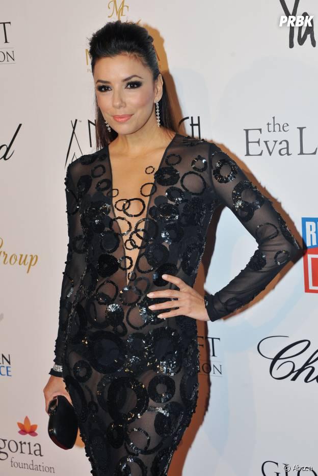 Eva Longoria : sa tenue transparente à Cannes en 2013