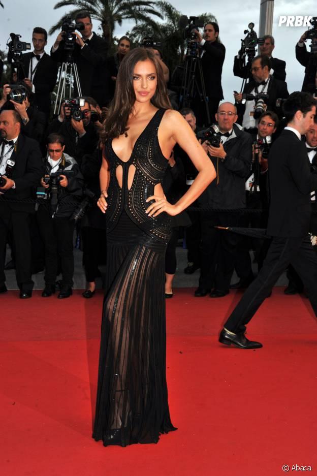 Irina Shayk et sa tenue transparente au Festival de Cannes 2013