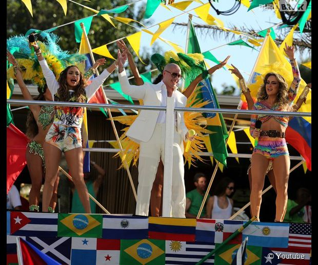 Jennifer Lopez, Pitbull et Claudia Leitte - We are one, le clip officiel de l'hymne de la Coupe du monde 2014