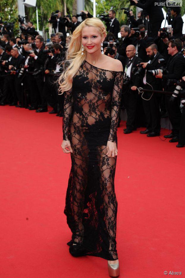 Tatiana Laurens sexy au Festival de Cannes, le 21 mai 2014