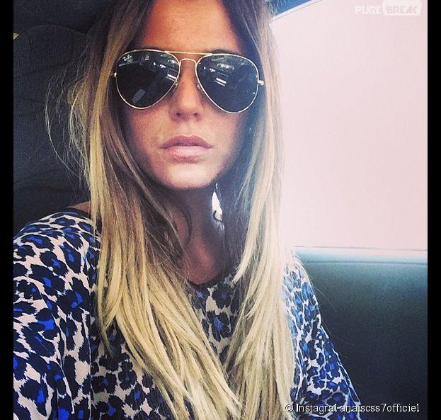 Anaïs Camizuli victime d'un accident de voiture