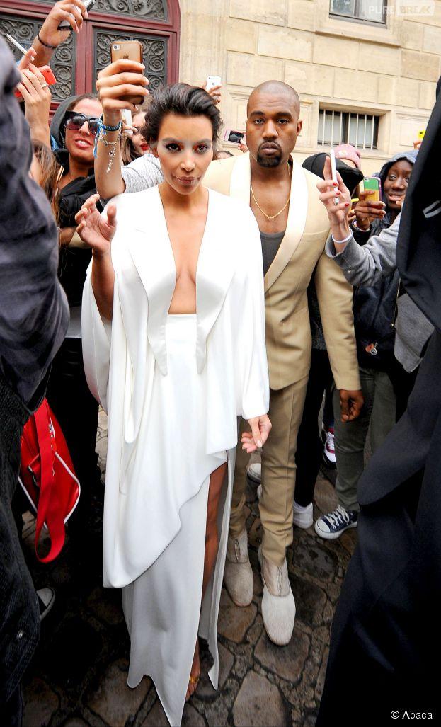 Kim Kardashian et Kanye West  mariage à Versailles terminé, direction Florence