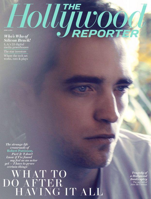Robert Pattinson en Une de Hollywood Reporter