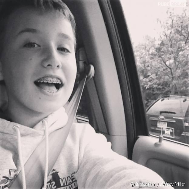 Jeffrey Millier, un jeune chanteur de 13 ans, cartonne sur Vine avec des reprises de 6 secondes
