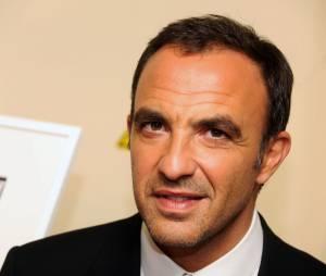 Nikos Aliagas au vernissage de son exposition photos, le 15 novembre 2012 au Studio Harcourt