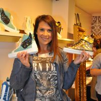 La Fouine, Malika Ménard... tous fans de la ligne de sneakers de Marion Bartoli