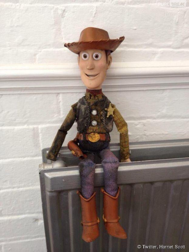 Toy Story : une poupée Woody à la recherche de son propriétaire... comme dans le célèbre film d'animation