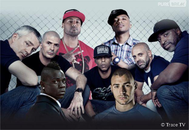 Foot & musique : le docu inédit de Trace TV avec Booba, Balotelli, Rohff, Karim Benzema...
