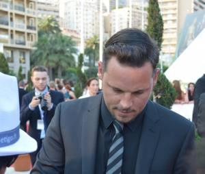 Justin Chambers lors de la soirée de clôture du 54ème Festival de Monte Carlo