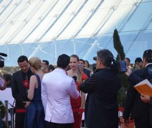 AJ Cook lors de la soirée de clôture du 54ème Festival de Monte Carlo