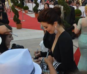 Bellamy Young lors de la soirée de clôture du 54ème Festival de Monte Carlo