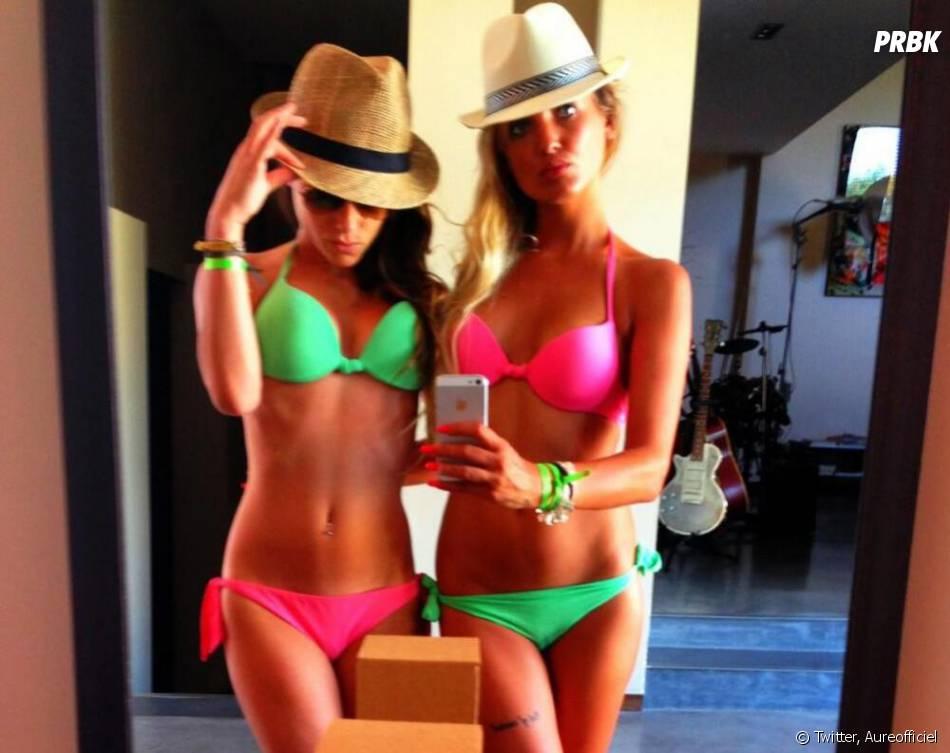 Aurélie Dotremont et Capucine Anav sexy en bikinis