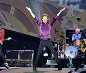 Les Rolling Stones en concert au Stade de France le 13 juin 2014