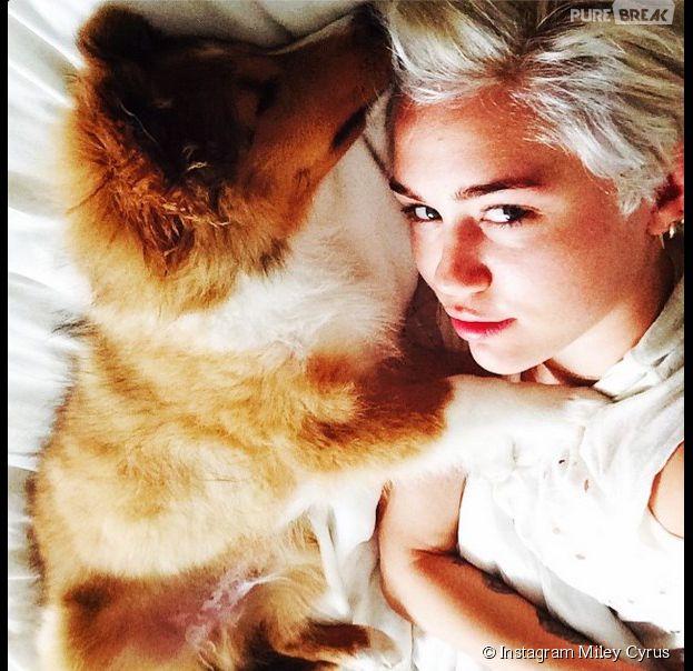 Miley Cyrus retrouve le bonheur avec Emu