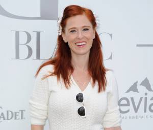 Audrey Fleurot au Brunch Blanc organisé par le groupe Barrière à Paris, le 29 juin 2014