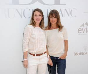 Anne Marivin et Axelle Laffont au Brunch Blanc organisé par le groupe Barrière à Paris, le 29 juin 2014